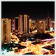 Vista noturna de Londrina