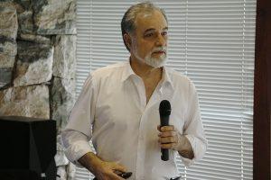 """O presidente da ABRAME, Áureo Simões Júnior: """"a mediação traz a possibilidade, principalmente, do resgate das relações pessoais""""."""