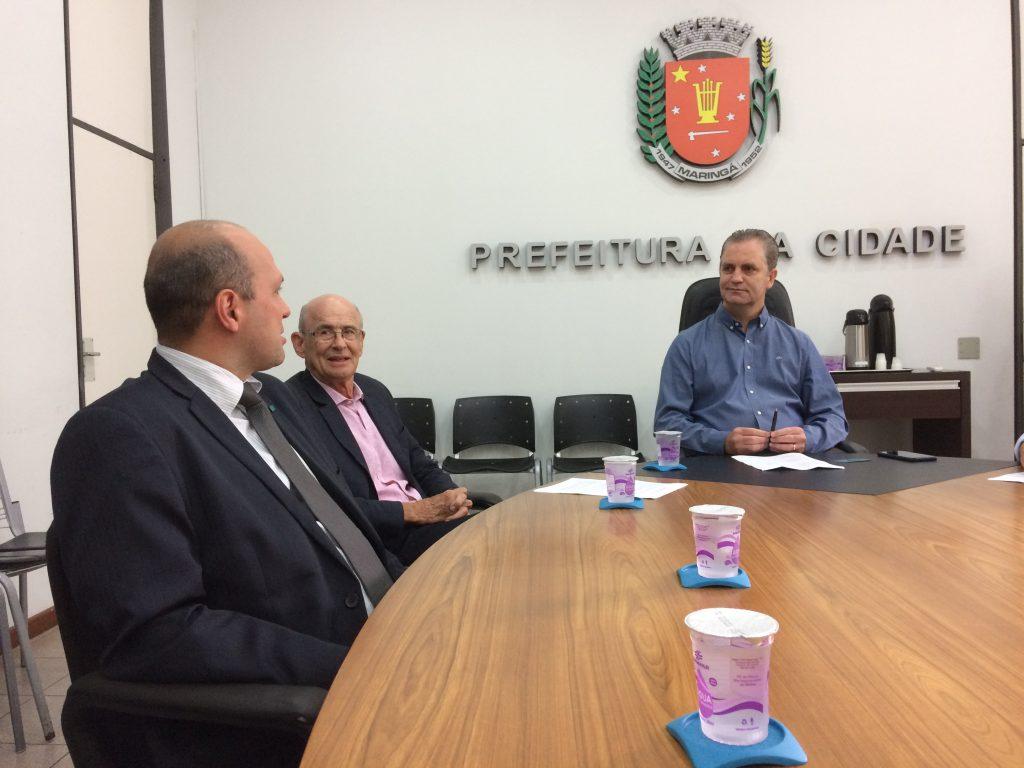 Reunião prefeito